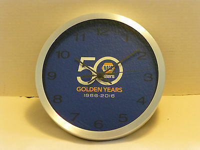 NAPA Filters Clock 50 Golden Years Anniversary 10 inch NEW Man Cave