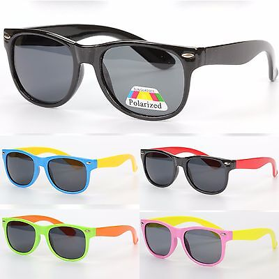 Children Kids Square Classic Polarized Sunglasses Boys Girls UV400 Protection