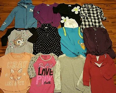 Lot of 12 Girls Tops Size 14-16