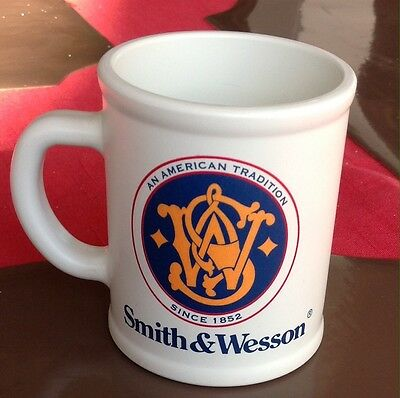 Smith And Wesson Coffee Mug Cup Deja Vu Made In USA
