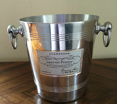 Vintage Laurent Perrier French Champagne Cooler Ice Bucket