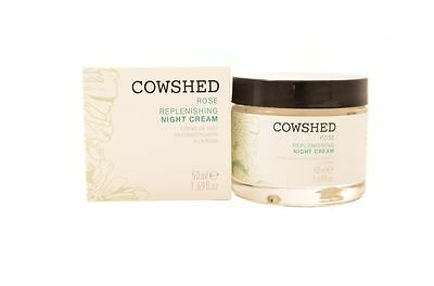 Cowshed Rose Replenishing Night Cream 50ml For Her Skin Care