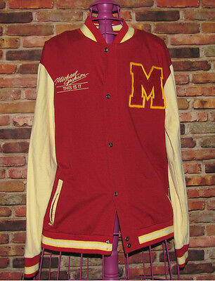 Michael Jackson Limited Edition This Is It Thriller Varsity Letterman Jacket LRG