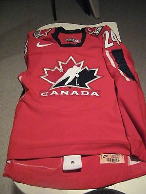 Kelly BECHARD - 2007 IIHF Team Canada Autographed jersey