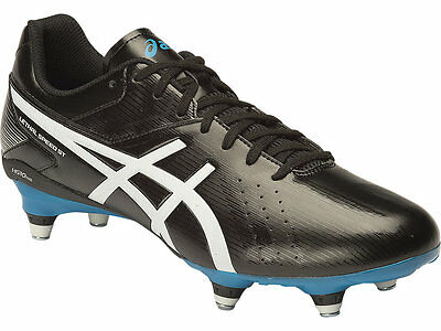 Genuine Asics Lethal Speed RS ST Screw In Mens Football Boots (9001)