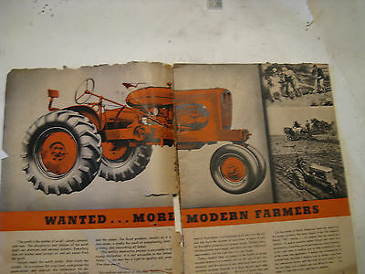 Allis-Chalmers WC tractor sales Catalog