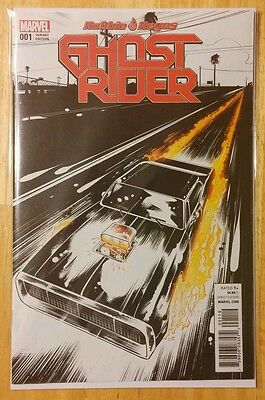Ghost Rider #1 (2016) One Per Store Variant Beyruth Marvel Comics Nm