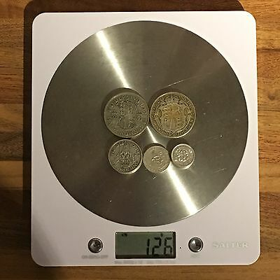 126g Post 1920 .500 Silver Coins Scrap Or Collection