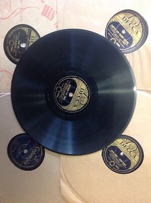 gramophone 78 records