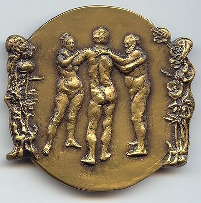 Society of Medalists, #117 (1988) The Prodigal Son - Departure/Emotional Reunion