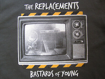 The Replacements T Shirt Bastards of Young Mats XL Extra Large