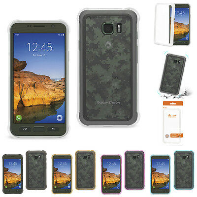 For Samsung Galaxy S7 Active Ultra Slim Clear TPU Case with Air Cushion Corner