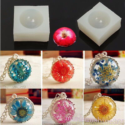 New Silicone DIY Ring Mold Resin Casting Jewelry Ring Mould Making Craft Tool