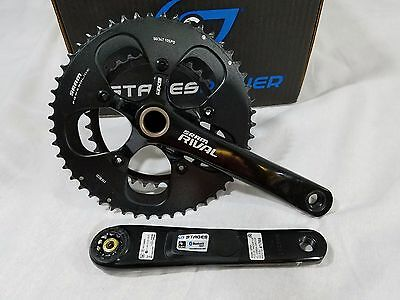 Stages Cycling Sram Rival Crank Set Power Meter 50/34t 175mm SPM1 9c