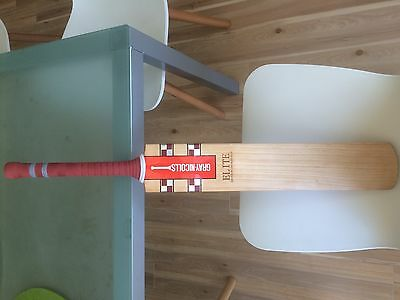 Gray Nicholls Elite Short Handle English Willow Cricket Bat Almost New