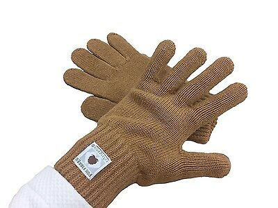 100% Natural Organic Certified Cotton Gloves Mittens Large Psoriasis GOTS