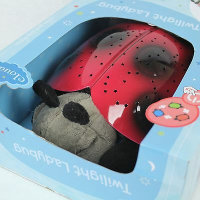 Cloud B Red Twilight Ladybug Constellation Projector Nursery Night Light Plush