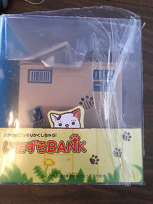Chatora Mischief White Kitty Automated Cat Stealing Coins Money Bank  No Reserve