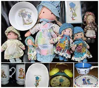 HOLLY HOBBIE - Large Lot of Holly Hobbie 1970S Collectibles