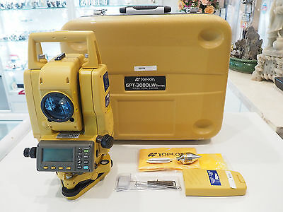 TOPCON GPT-3000LW Series Pulse Total Station