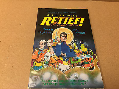 RETIEF! BY KEITH LAUMER'S THE GRAPHIC ALBUM 1990 TPB rare