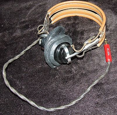 Us Army Air Forces Hb-7 Pilot Headset W/anb-H-1 Earphone Receivers
