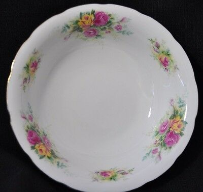 Royal Wessex, BOWL in  English Summer Roses design, Fine Bone China