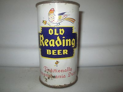 Old Reading 12 Oz  Flat Top Collectible Can. 1957