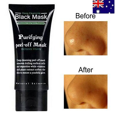 50ML Mineral Mud Nose Blackhead Removal Pore Cleaner Cleansing Mask face mask F#
