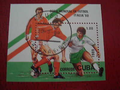 Central America - 1990 World Cup (2) - Minisheet - Unmounted Used - Ex Condition