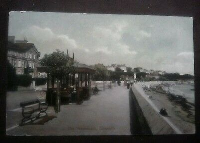 Vintage/Old Postcard,,,,,,,, The Promenade, Exmouth