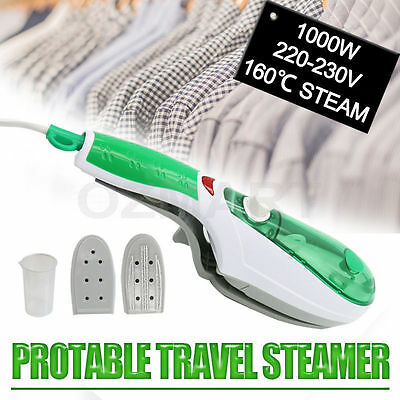 Portable Travel Handheld Iron Clothes Steamer Garment Steam Brush Hand Held 2017