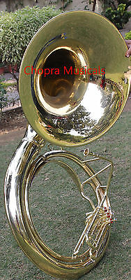 """Sousaphone Best Quality 25"""" Bell 3Valve Biggest Size Carring Bag n M/P Free"""