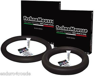 Techno Mousse Moosgummi Set 21/18 Zoll Enduro Black Series 140/80-18