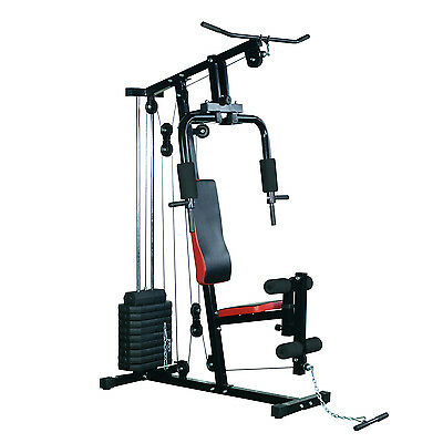 Soozier Exercise Machine Heavy Duty Body Fitness Strength Training Home Gym