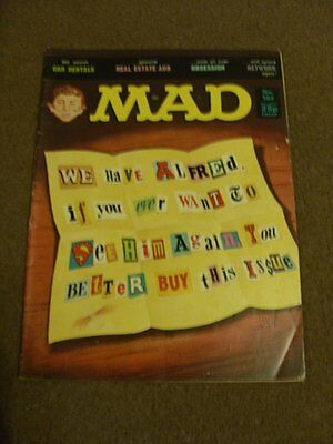 MAD MAGAZINE - No 184 - Obsession - Aug 1977