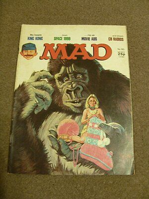 MAD MAGAZINE - No 185 - King Kong, Space 1999 - September 1977