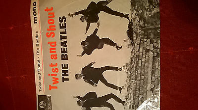 the beatles record cover only twist and shout