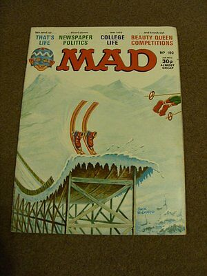 MAD MAGAZINE - No 192 - That's Life - April 1978