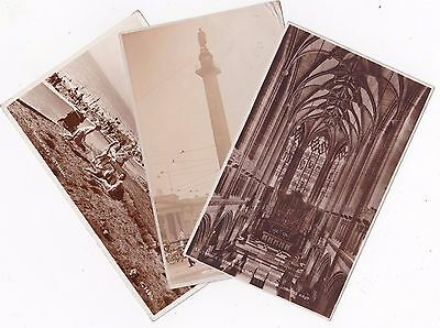 Three postcards two from Liverpool one Heysham. Early 1900s