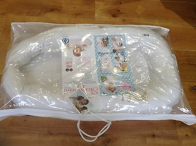 Sleepyhead Deluxe Portable Baby Pod, White with Original Packaging