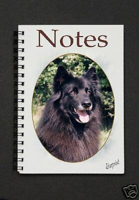 Belgian Shepherd Dog Notebook / Notepad By Starprint