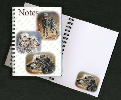 Deerhound Notebook / Notepad No 2SH By Starprint - Auto combined postage