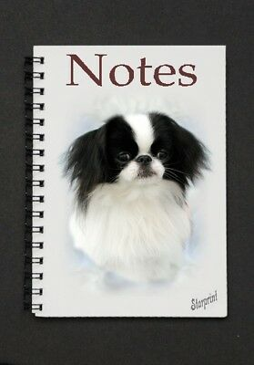 Japanese Chin Notebook/Notepad with a small image on every page - by Starprint