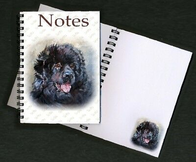 Newfoundland Dog Notebook / Notepad No 2SH By Starprint - Auto combined postage