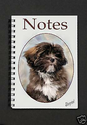 Lhasa Apso Notebook / Notepad By Starprint - Auto combined postage