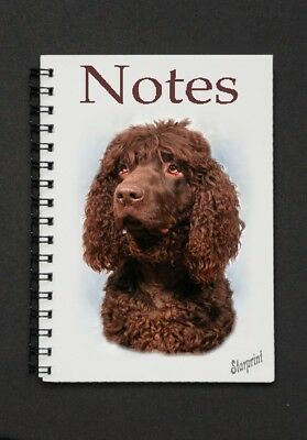 Irish Water Spaniel Notebook / Notepad By Starprint