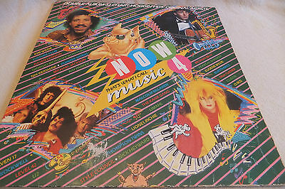 """Various Artists  -  NOW Thats What I Call Music Vol 4  - 1984  Vinyl 12"""" LP"""