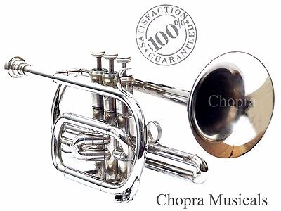 NEW YEAR SALE Cornet Professional 3V with Hard Case+Mouth Piece Free