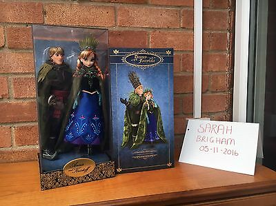 Disney Store Limited Edition DFDC Anna & Kristoff Doll